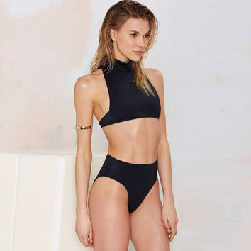 Beach Swimsuit Summer Hot New Arrival Stylish Sleeveless With Steel Wire High Rise Sexy Swimwear Bikini [6532584135]