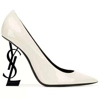 YSL 2019 new sexy super high heel shallow pointed high heels