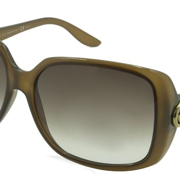 Gucci Sunglasses - 3166 / Frame: Brown Lens: Brown Gradient-GG3166S0HSD