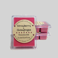 Strawberry & Champagne Type Soy Wax Tart Melt