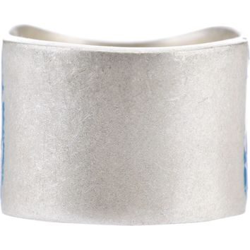 Maison Martin Margiela distressed paint effect ring