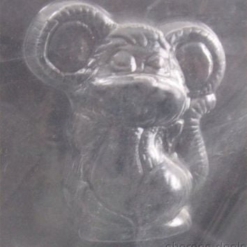 Cute Mouse Animal Chocolate Mold CybrTrayd Life Of The Party 3D A49 Candy Soap