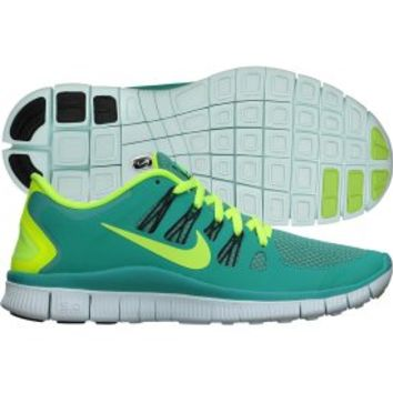 Nike Women's Free 5.0+ Running Shoe - Turquoise/Volt | DICK'S Sporting Goods