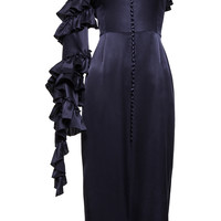 Pozallo Navy Dress | Moda Operandi