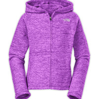 The North Face Girls' Tops GIRLS' GLACIER NOVELTY FULL ZIP HOODIE