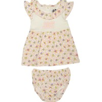 Powderpink Island Juicy Floral Print Dress With Panty by Juicy Couture,