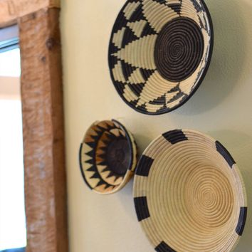 Hand Woven Baskets - Large
