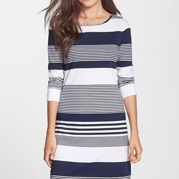 Women's Lilly Pulitzer 'Marlowe' Stripe Pima Cotton Shift Dress,