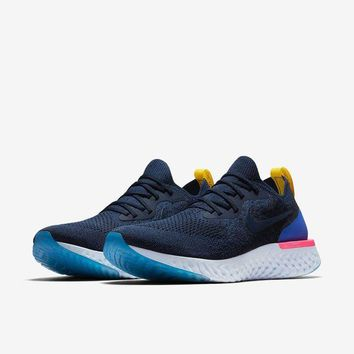 Gotopfashion Nike Epic React Flyknit - College Navy AQ0067-400 (UK 8)