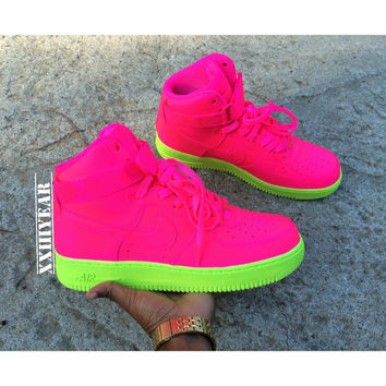 Wet Willies - Nike Air Force 1 s High from XXIIIyear on Etsy 05000e5342bc