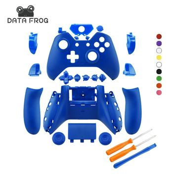 for Xbox one Full Shell Housing Case Matte Colors Replacement Original Controller Custom Cover Hoursing Shell for Xbox One X1