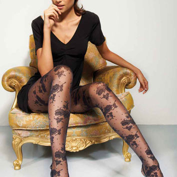 Luxury Italian Design Pantyhose