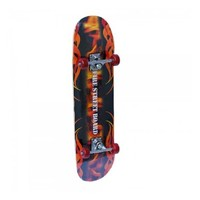 COOLGO Fire Maple Deck Complete Skateboard,ship from US