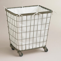 Ellie Rolling Hamper - World Market