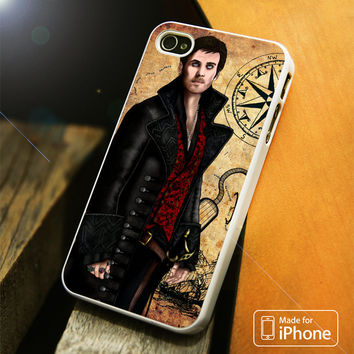 Once Upon A Time Captain Hook Vector iPhone 4(S),5(S),5C,SE,6(S),6(S) Plus Case