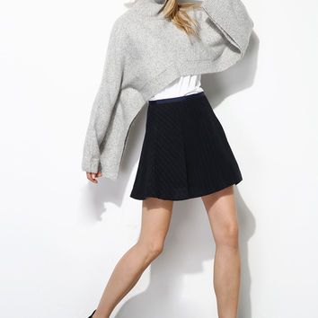Luxury Wool Slouchy Cropped Sweater TP0115
