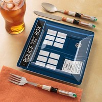 Doctor Who Sonic Screwdriver Cutlery Set |Gadgetsin