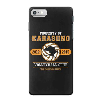 Property of Karasuno High School Volleyball Club iPhone 7 Case