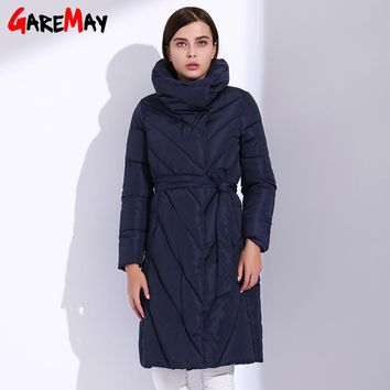 Women Parka Long Jackets For Women Winter Coat Quilted Thick Parka Coats Casual Feather Puffer Jacket