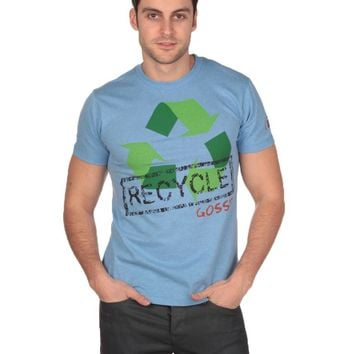 Spenglish Recycle It Tee - Blue Heather