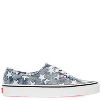 The Authentic Sneaker in Washed Star and Blue