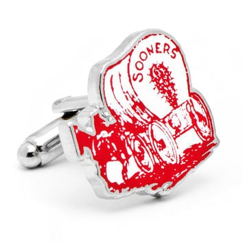 Vintage University of Oklahoma Sooners Cufflinks