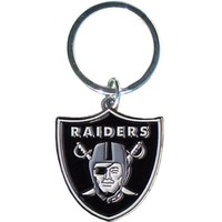 NFL - Oakland Raiders Enameled Key Chain
