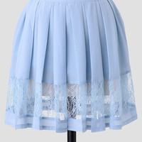 Light As Air Pleated Skirt