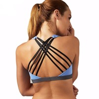 Quick Dry Push Up Sports Bra with Light Padding (2 Colors)