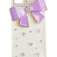 Bling Bow Phone Case - WetSeal