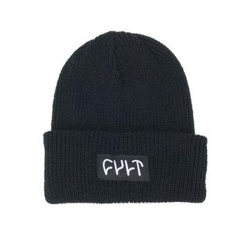 Cult Witness Beanie Black