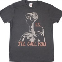 E.T. I 'll Call You Shirt by Junk Food available online from OldSchoolTees.com and many more classic movie tees to choose from