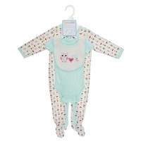 3pc Cute Owl Layette Set 0 9m 310290596 | Vitamins | Shop by Brand | Burlington Coat Factory