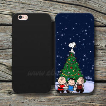 Charlie Brown Snoopy Wallet iPhone Cases Cartoon Samsung Wallet Leather Cases