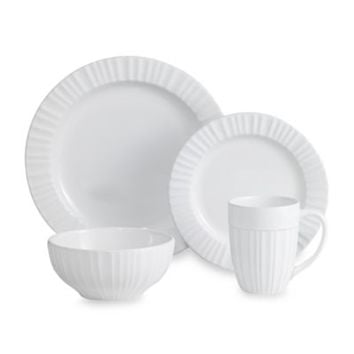CorningWare® French White® 16-Piece Dinnerware Set