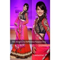 Gauhar khan breathtaking lehenga saree bollywood actress television star 226 | Shop 'N kart