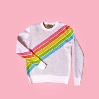 Rainbow Horizons Sweater