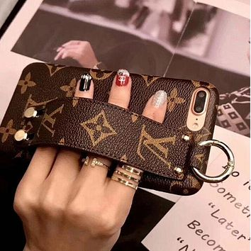LV Louis Vuitton Fashion Print iPhone Phone Cover Case For iphon 36ec12f20