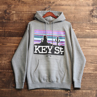 Skyline Hoodie in Gunmetal Heather