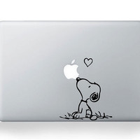 Snoopy Mac Decal Macbook Stickers Macbook Decals Apple by bestack