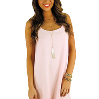 Pastel Perfect Dress- Light Pink | MACA Boutique