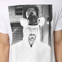 Breaking Bad Heisenberg Mask Tee- White