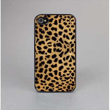 The Orange Cheetah Fur Pattern Skin-Sert Case for the Apple iPhone 4-4s