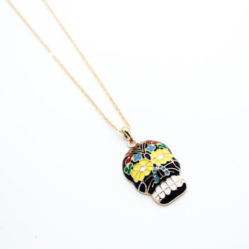 Romantic Skull necklace