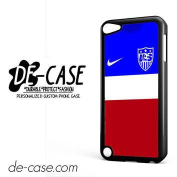 Usa Soccer Jersey For Ipod 5 Ipod Touch 5 Case Phone Case Gift Present YO