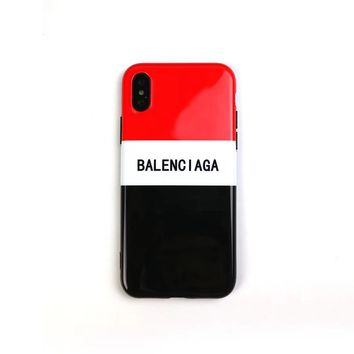 BALENCIAGA Case for iPhone 7 8 XS MAX XR