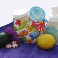 All Natural Essentials Gift Set - Organic Gift Set - All Natural Face Wash - All Natural Shaving Lotion - All Natural Gift Set