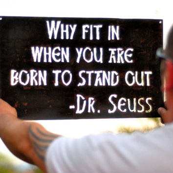 Dr Suess, Dr Suess Quote, Dr Suess Wall Decal, Dr Suess Sign, Classroom Decor