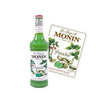 MONIN Coffee Syrup 70 CL Pistachio / Pistade - Free Tracked Delivery