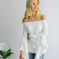 Wine Country Flowy Top